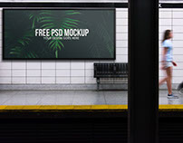 Outdoor Advertising Mockup Template