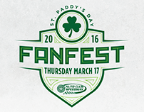 St. Paddy's Day - FanFest Logos