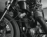 Little Harley biker