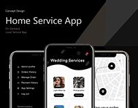 Concept UI/UX Design for Home Service App