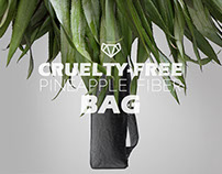Vortex V // Pineapple Fiber BAG