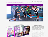 WEB SITE DESIGN - Slimmer and Thinner Fitness