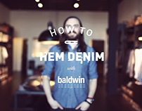How to Hem Denim Instructional Video