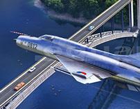 Fishbed MiG 21 - Eduard MA Boxart