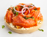Lox with Cream Cheese Poster