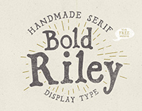 Bold Riley typeface