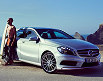 Mercedes Benz A Class AMG Surf Editorial
