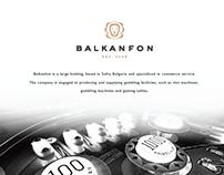 Balkanfon creative logo and brand identity design