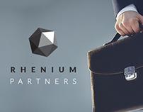 Rhenium Partners - Responsive landing page design