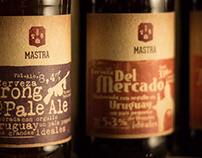 Mastra Craft Beer / Labels Design for New Styles
