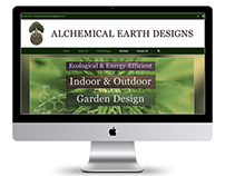 Alchemical Earth Designs Web Design