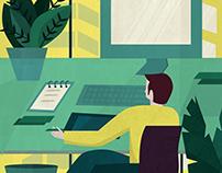 Business Spot Illustration