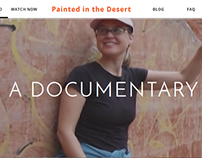 Painted in the Desert - Brand New Website