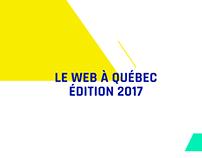 Motion Design de présentation du Web à Québec 2017
