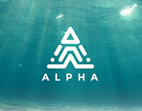 ALPHA Logo Template