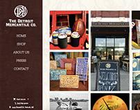 Det. Mercantile Website