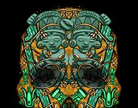 Asústame Panteón - Prehispanic Bestiary