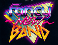 """""""Fancy New Band"""" poster"""