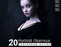 20 Portrait Glamour Action