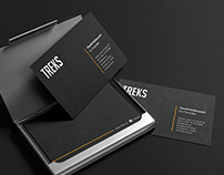 Business Card Design - TREKS