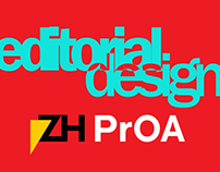 PrOA - editorial design
