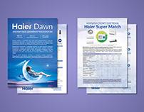 Листівки для кондиціонерів Haier