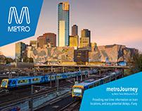 Metro Trains - App Concept