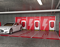 Charging station | Branding and Decoration