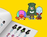 KIZIPAD - Characters Design