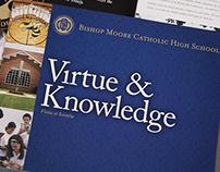 Brochure for Bishop Moore Catholic High School