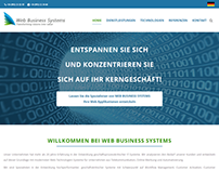 WBS - Web Business Systems Company Website