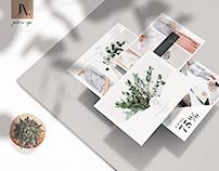 Postcard Fashion Flyer