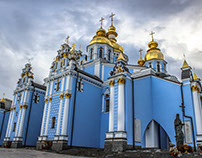 St. Michael's Golden Domed Monastery / Ukraine (Kiev)
