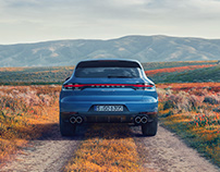 Porsche Macan S in bloom