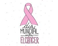 World Day against cancer illustration