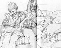 sketches of tender moments