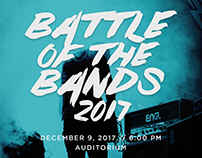 Poster: iACADEMY Battle of the Bands 2017