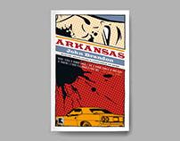 Book cover – Arkansas