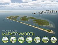 Birdparadise and wetland restoration Marker Wadden