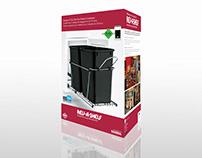 Rev-A-Shelf Retail Package Design