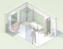 REHAU   RAUVISIO components - bathroom