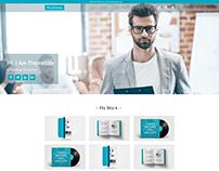 Portfolio Personal Profile Responsive Shopify theme