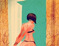 Night Drawing  #26- Homage to Guido Crepax' Valentina