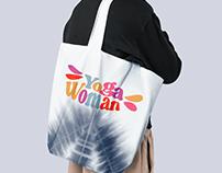 Branding Yoga Woman