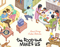 The Food That Makes Us Book Illustration