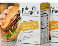 Dr. Praeger's Branding & Packaging