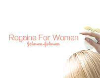 J&J ROGAINE FOR WOMEN