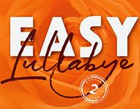 Easy Lullabye logo branding font