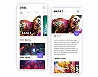 Game App Ui Design