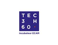 Logos recherches - Incubateur ECAM TECH360